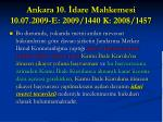 ankara 10 dare mahkemesi 10 07 2009 e 2009 1440 k 2008 1457
