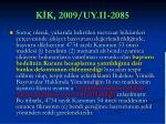 k k 2009 uy ii 2085
