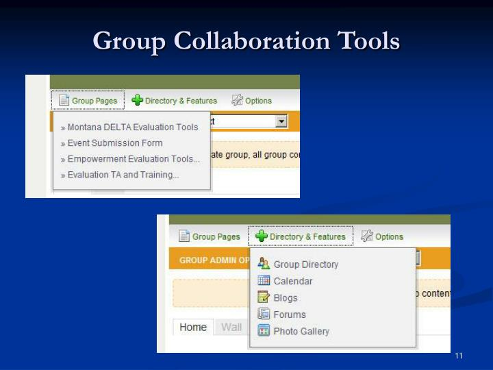 Group Collaboration Tools