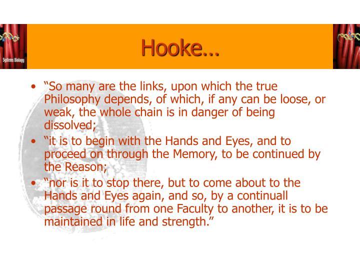 Hooke…