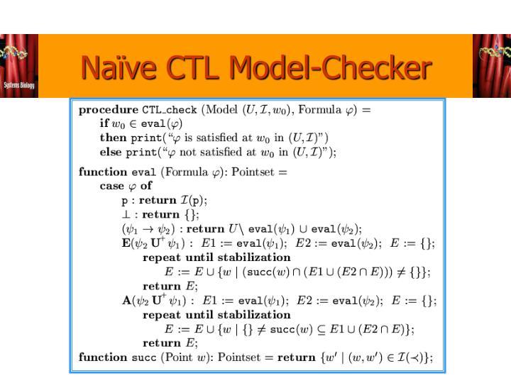 Naïve CTL Model-Checker
