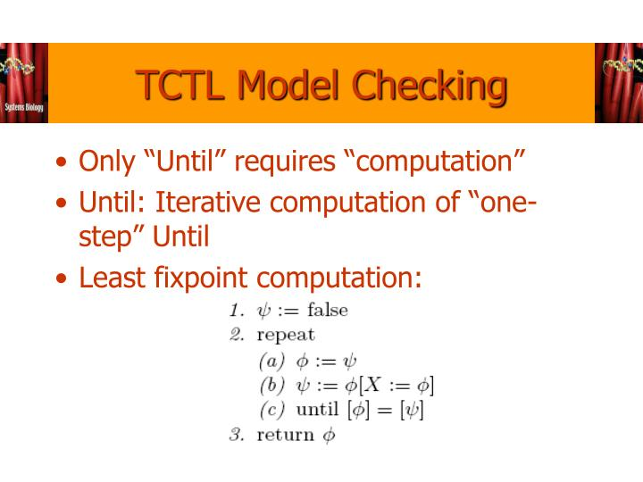TCTL Model Checking