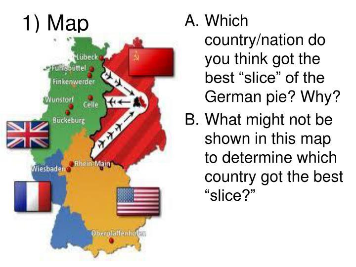 1) Map