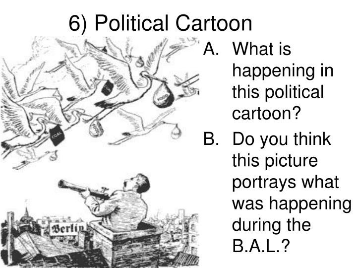 6) Political Cartoon