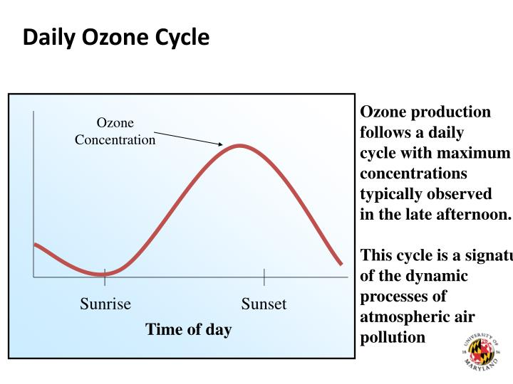 Daily Ozone Cycle