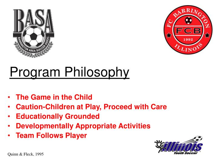 Program Philosophy
