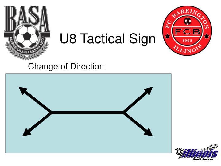 U8 Tactical Sign
