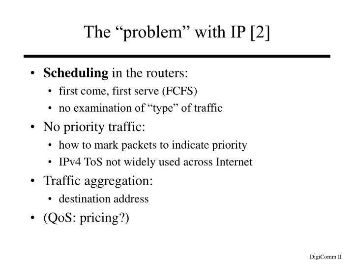 "The ""problem"" with IP [2]"