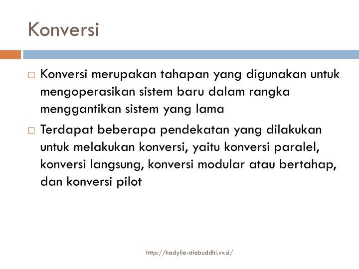 Konversi