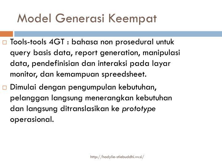 Model Generasi Keempat