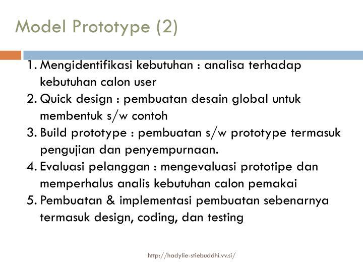 Model Prototype (2)