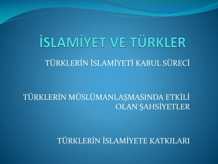Slam yet ve t rkler
