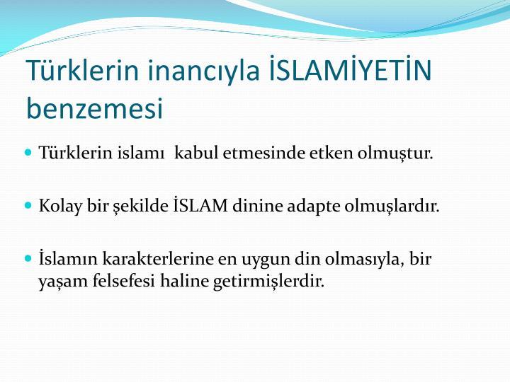 Türklerin inancıyla İSLAMİYETİN benzemesi