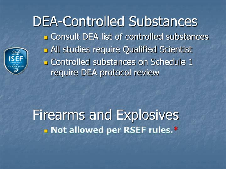 DEA-Controlled Substances
