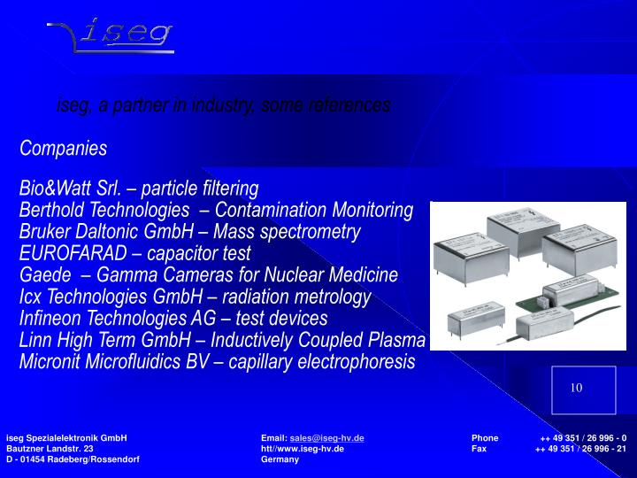 Bio&Watt Srl. – particle filtering