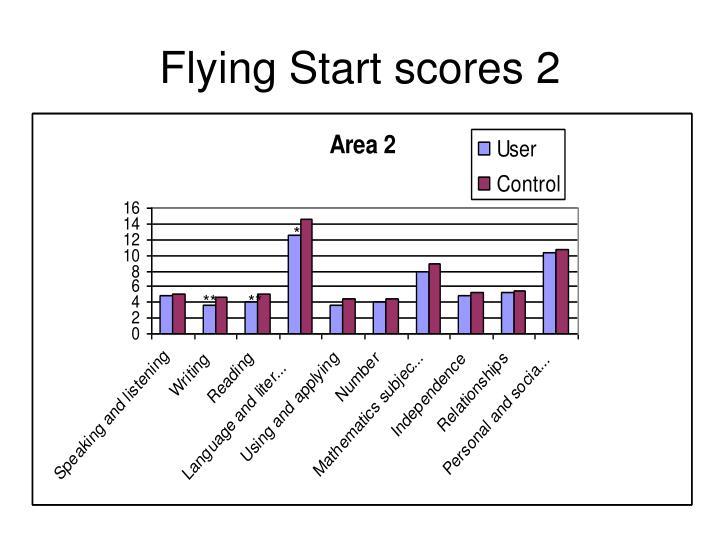 Flying Start scores 2