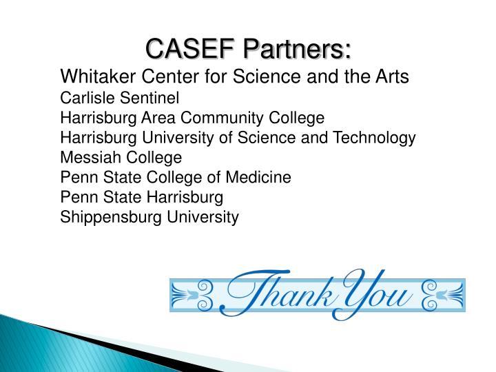 CASEF Partners:
