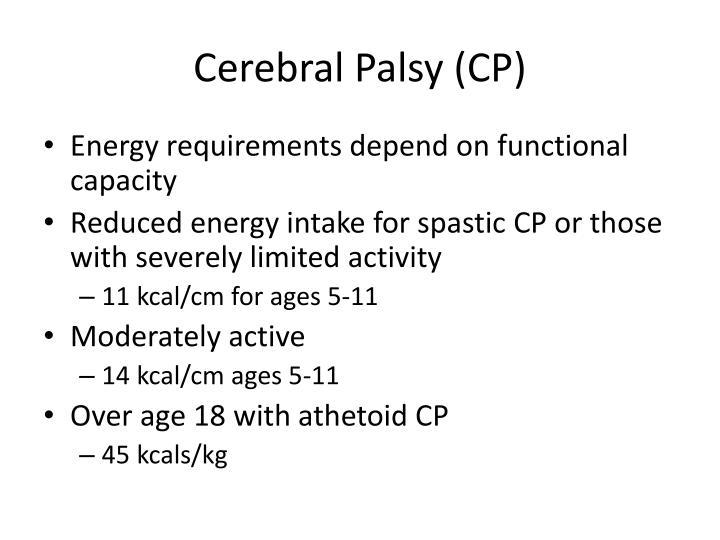 Cerebral Palsy (CP)