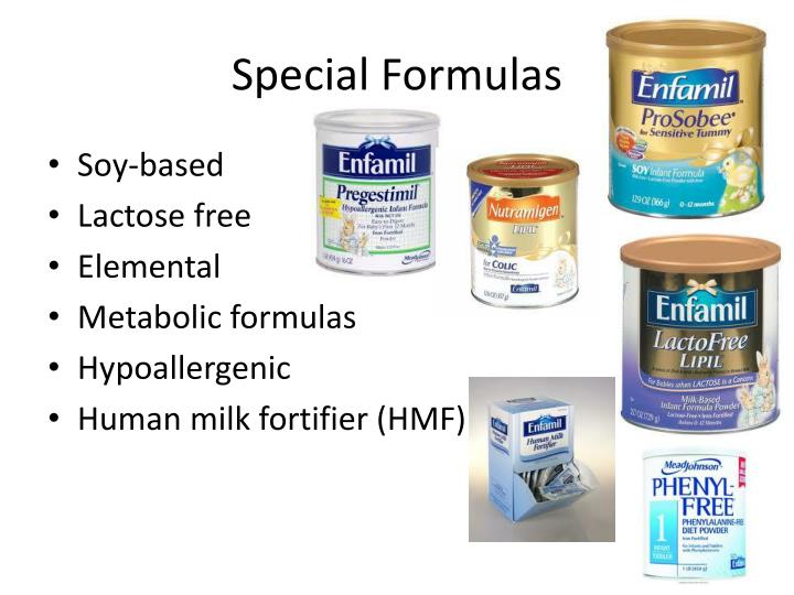 Special Formulas