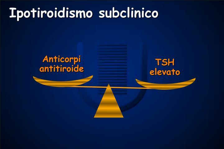 Ipotiroidismo subclinico