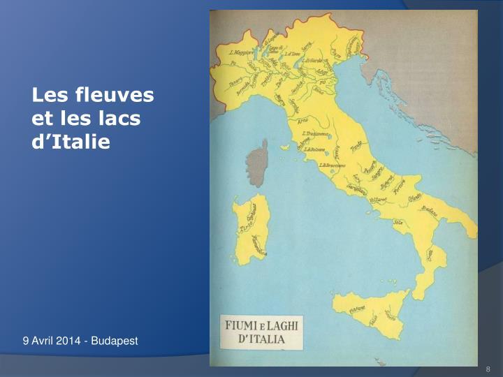 Les fleuves et les lacs d'Italie