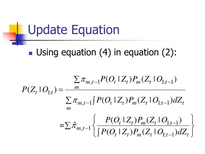 Update Equation