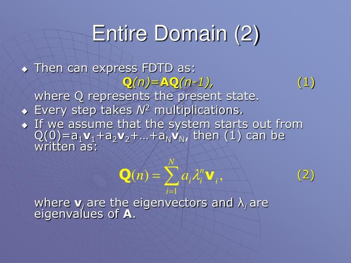 Entire Domain (2)