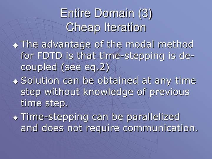 Entire Domain (3)