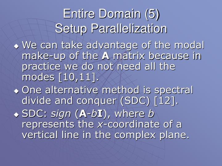 Entire Domain (5)