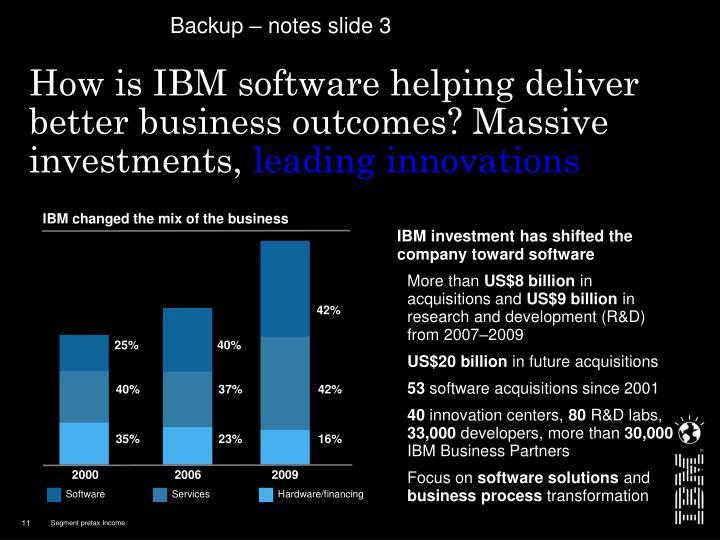 Backup – notes slide 3