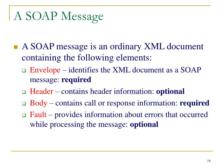 A SOAP Message