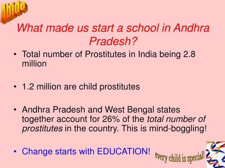 What made us start a school in andhra pradesh
