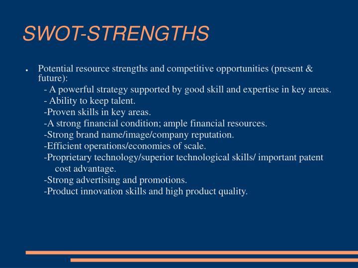 SWOT-STRENGTHS