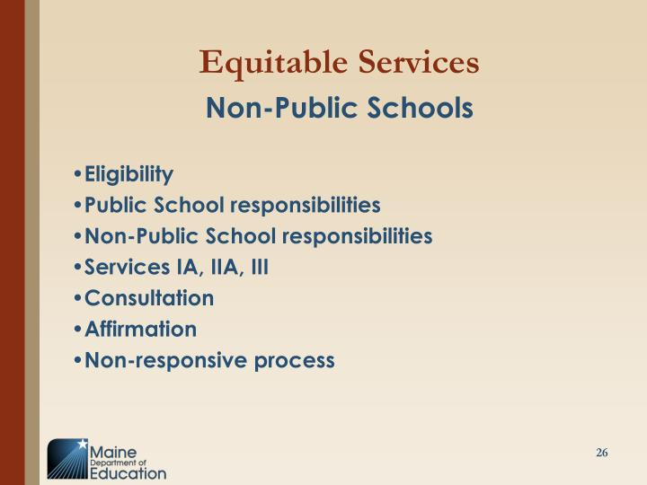 Equitable Services
