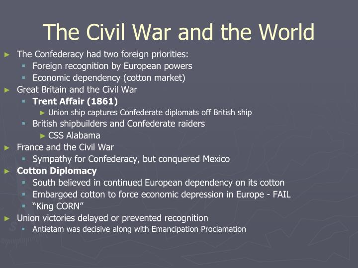 The Civil War and the World