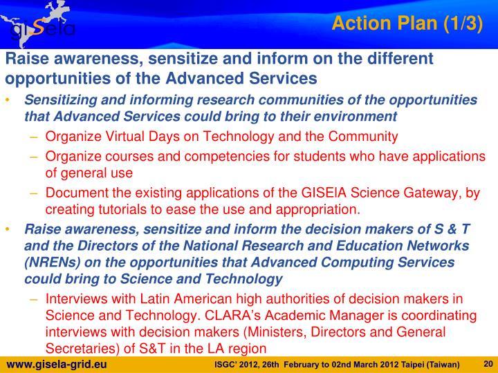 Action Plan (1/3)