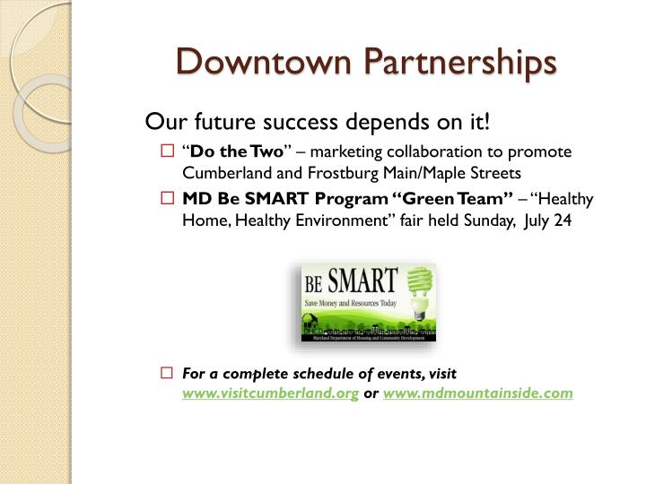 Downtown Partnerships