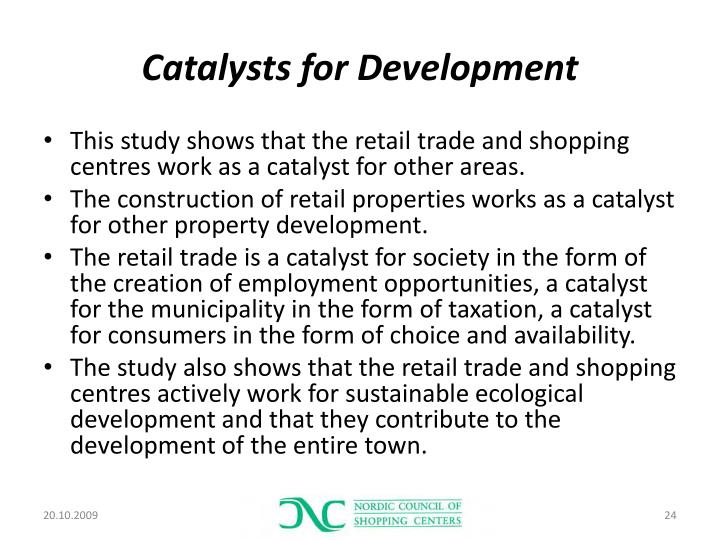 Catalysts for Development