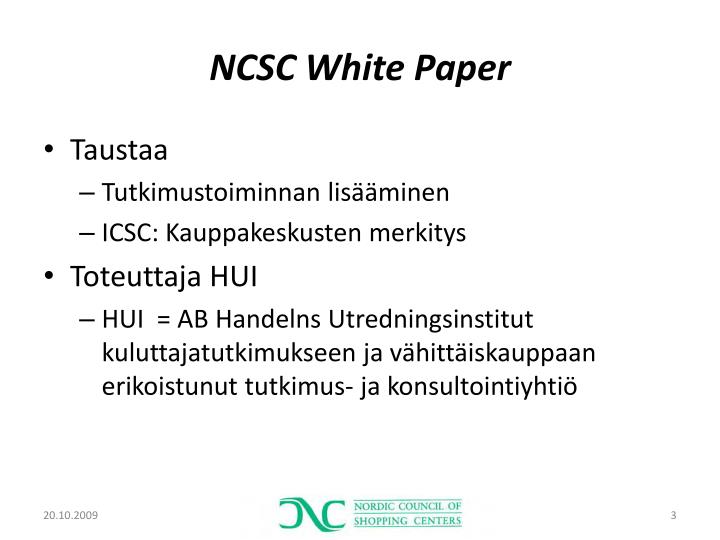 Ncsc white paper