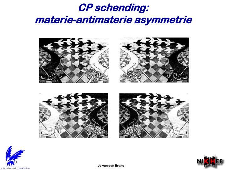 CP schending: