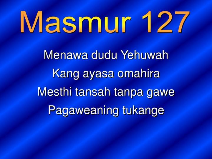 Masmur 127