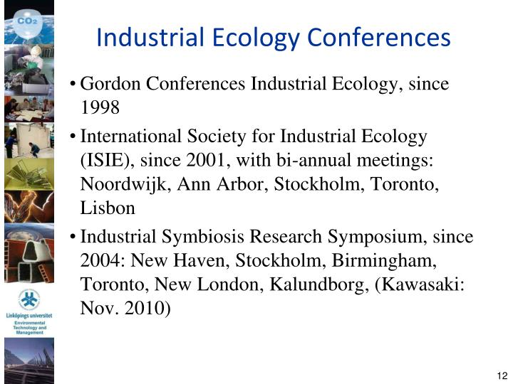 Industrial Ecology Conferences