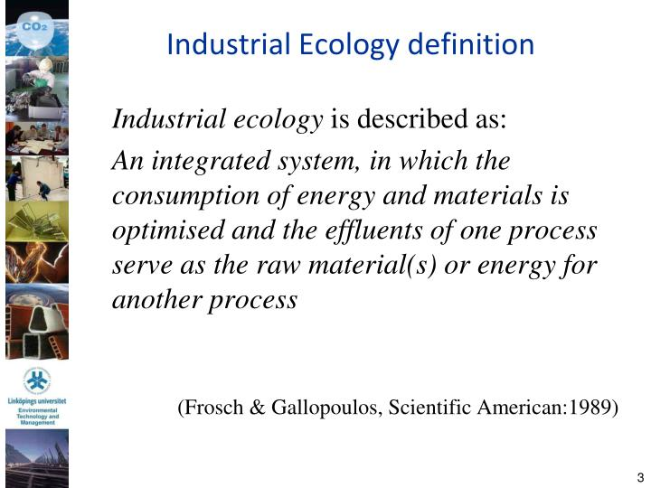 Industrial ecology definition