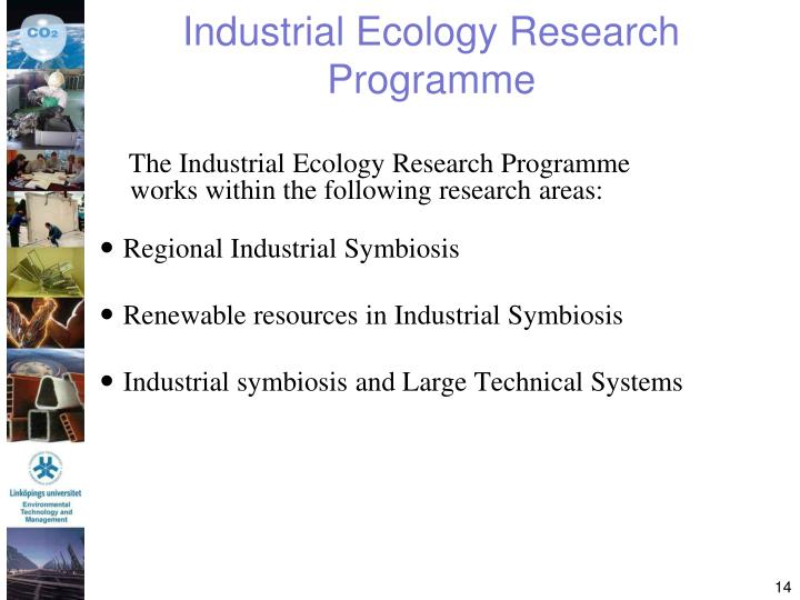Industrial Ecology Research