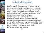 industrial symbiosis