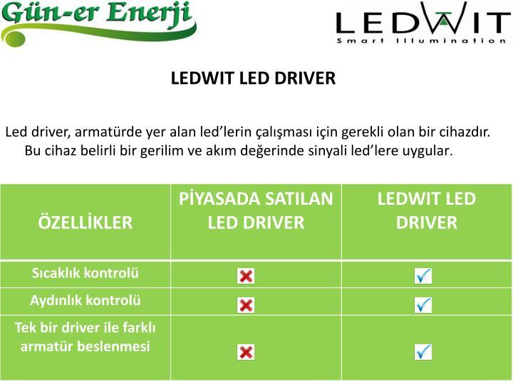 LEDWIT LED DRIVER