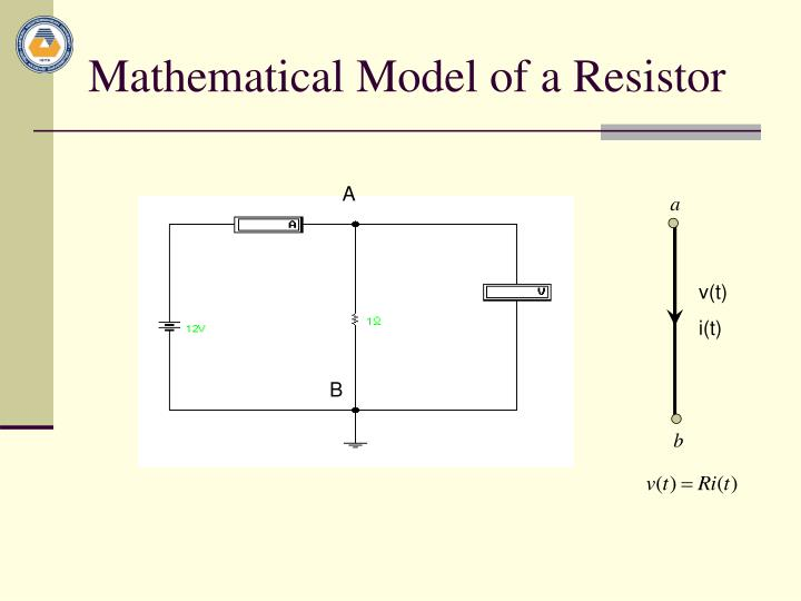 Mathematical Model of a Resistor