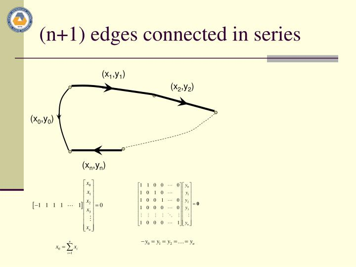 (n+1) edges connected in series