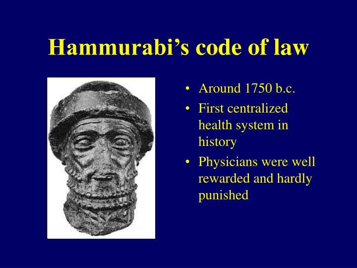 Hammurabi's