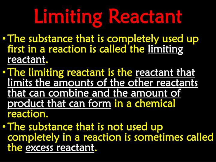 Limiting